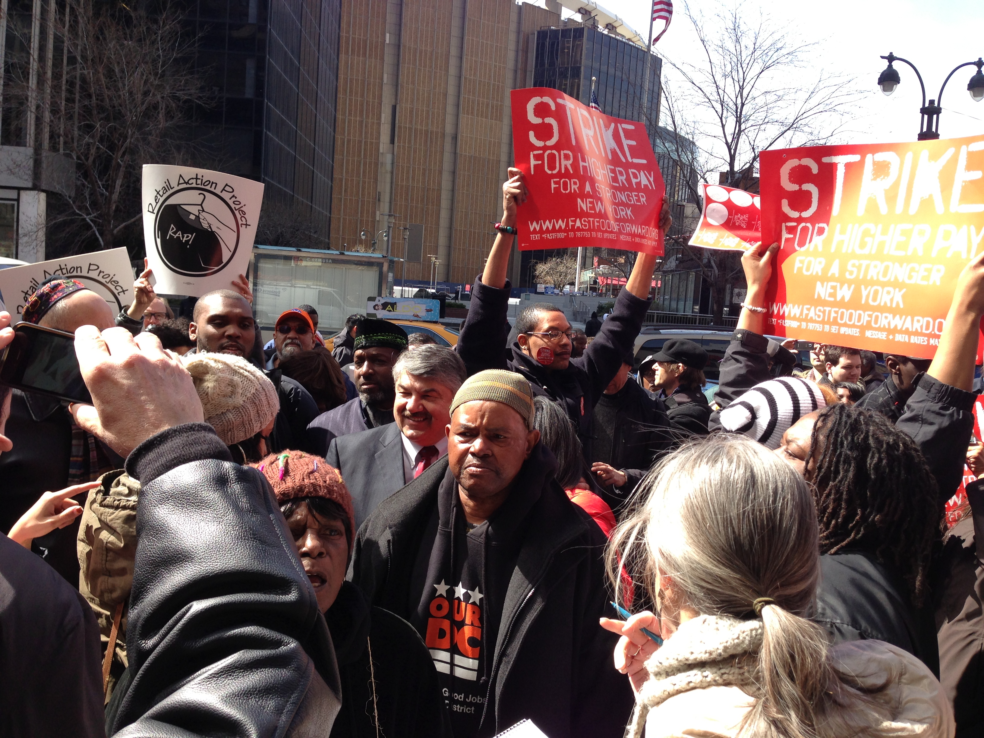 FAST FOOD WORKERS STRIKE | New York City Central Labor Council