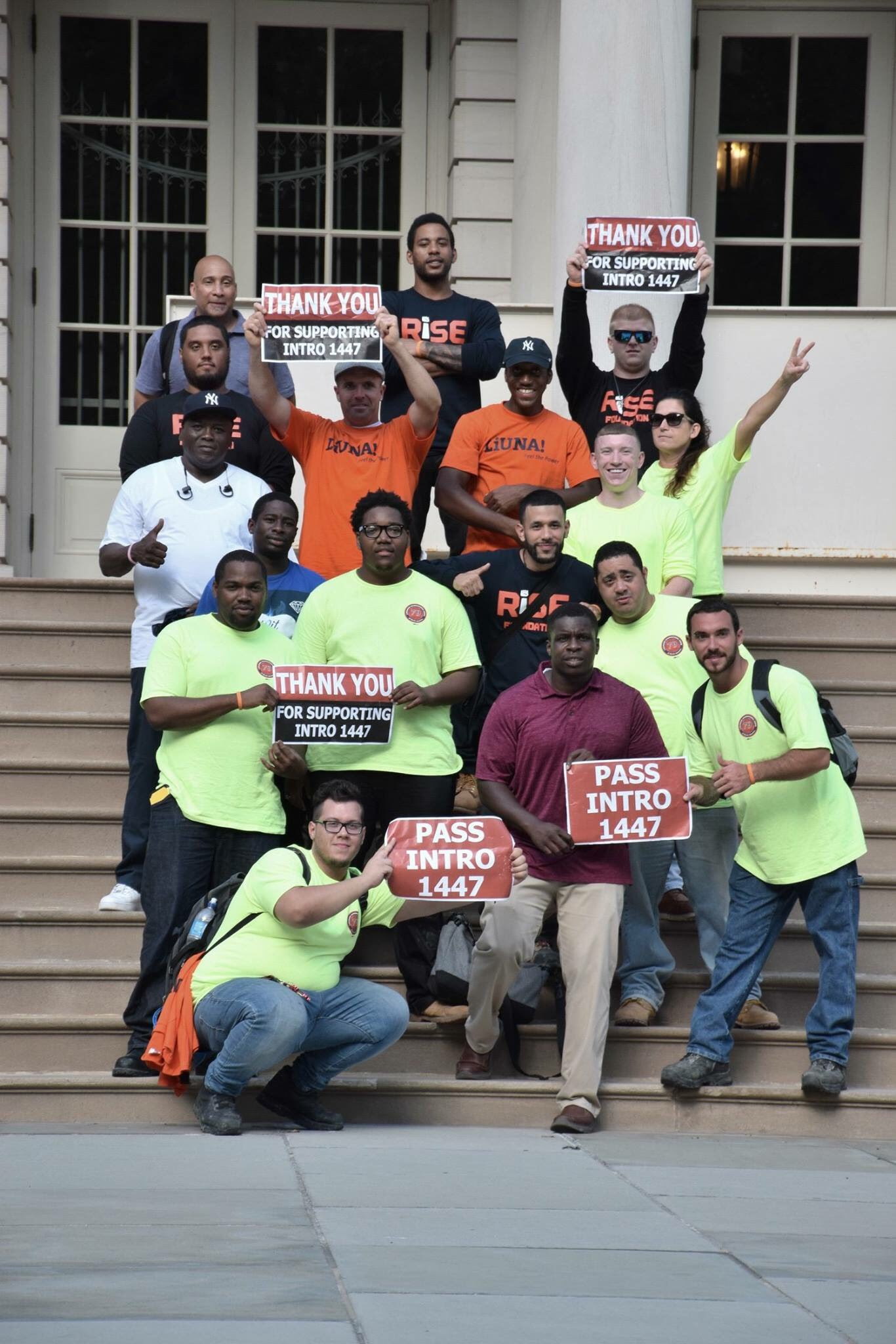 In a Huge Victory for Construction Worker Safety, NY City Council  Unanimously Passes Intro 1447-C | New York City Central Labor Council