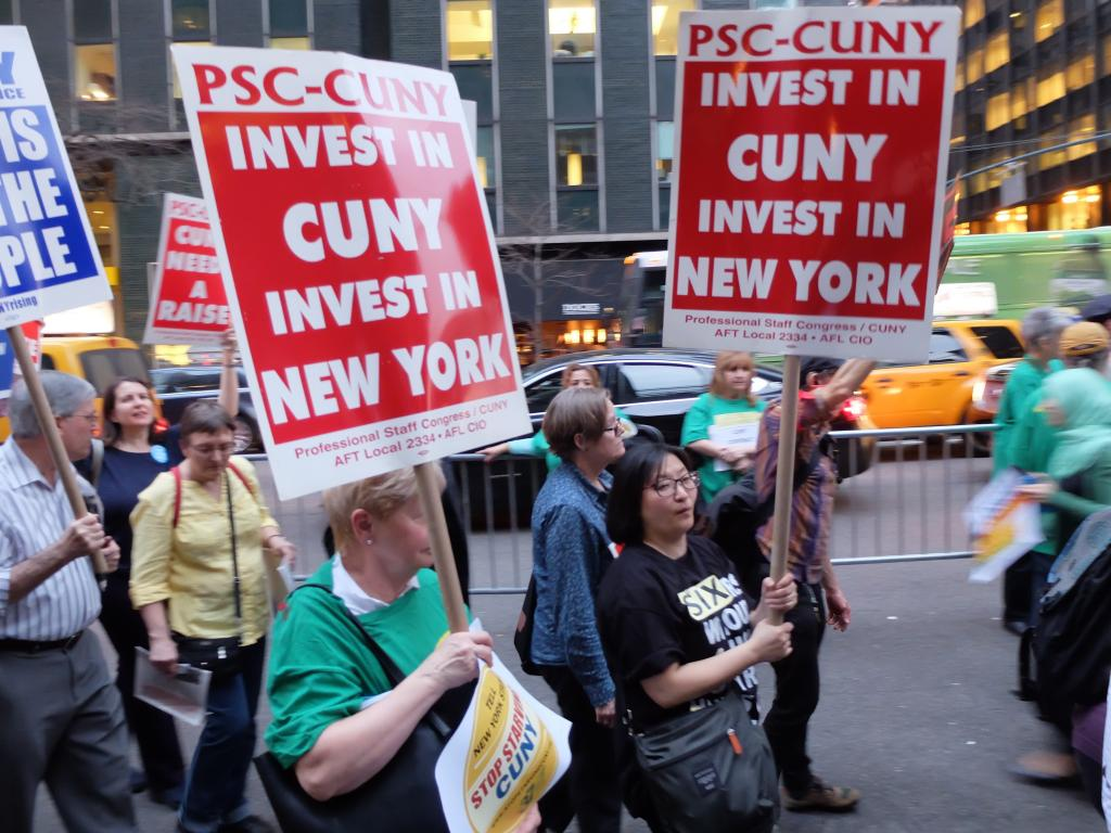 Cunyrising Rallies For Investment In Cuny Students