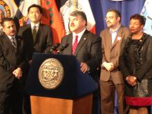 AFL-CIO President Richard L. Trumka speaking on the Comprehensive Immigration Reform Bill that will affect millions of immigrants