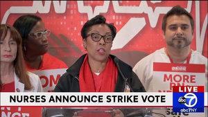 NYC Nurses Authorize Strike Across Three Hospital Systems